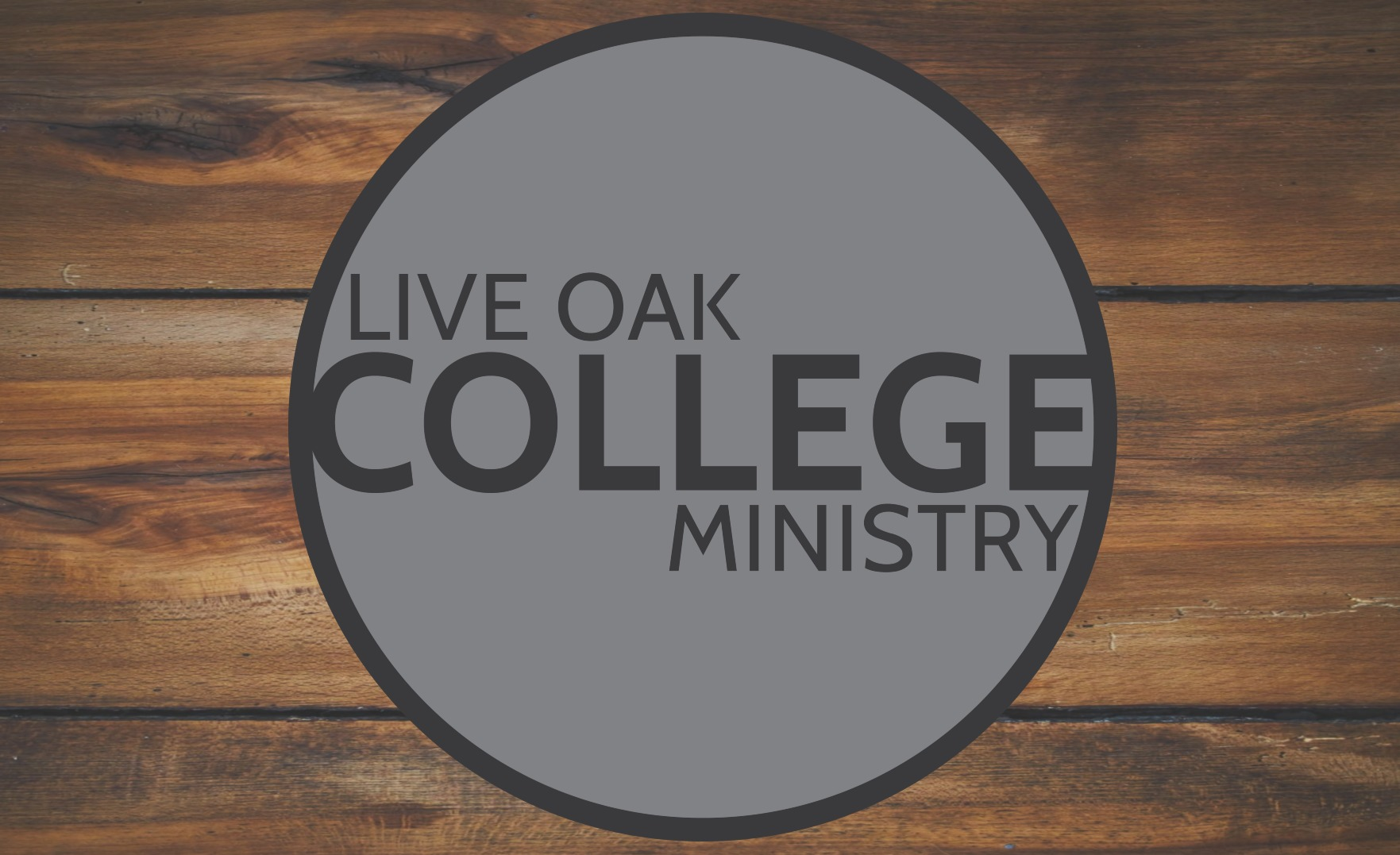 This Week in Live Oak College Ministry…