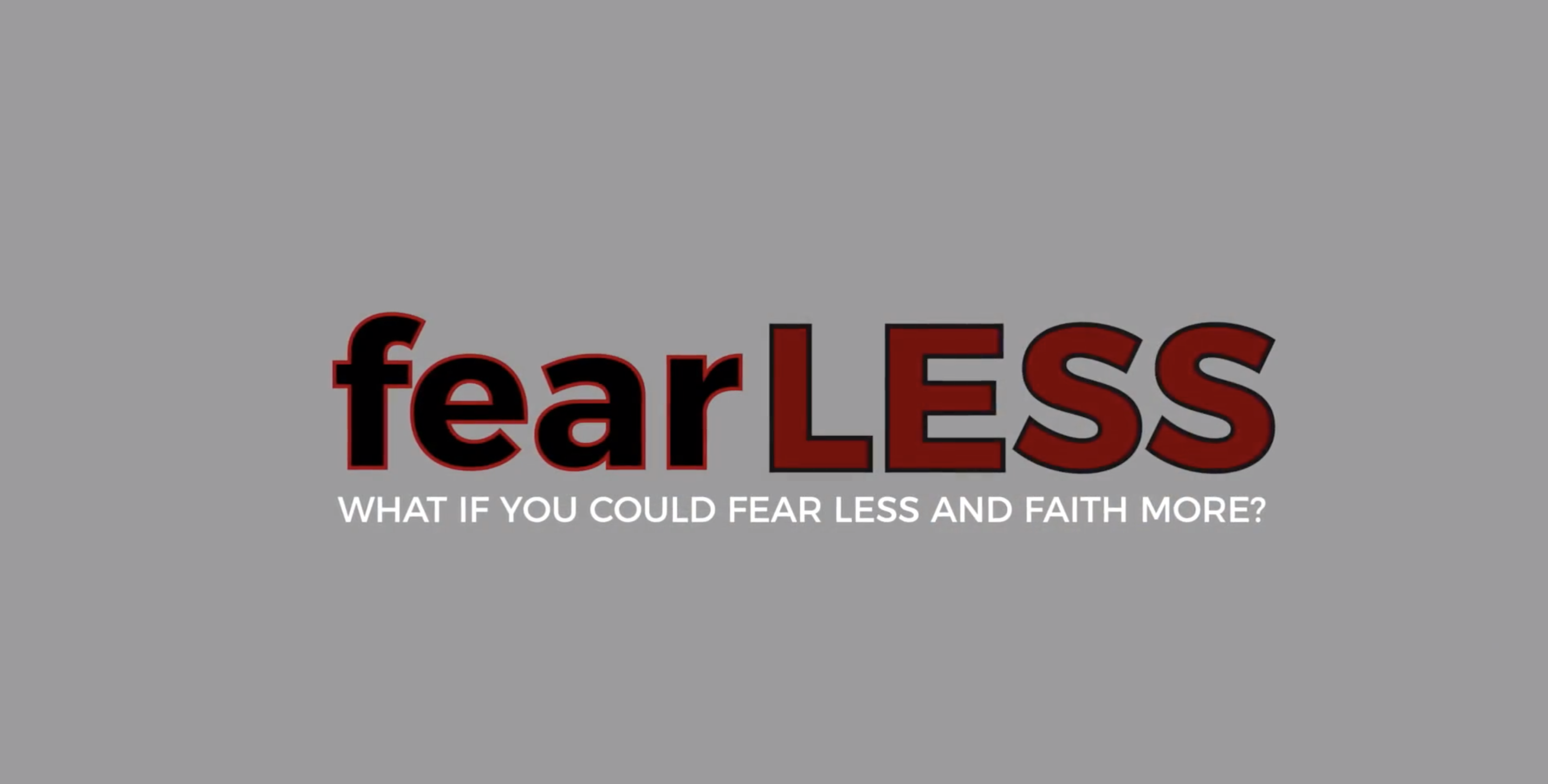 How To Fear Less