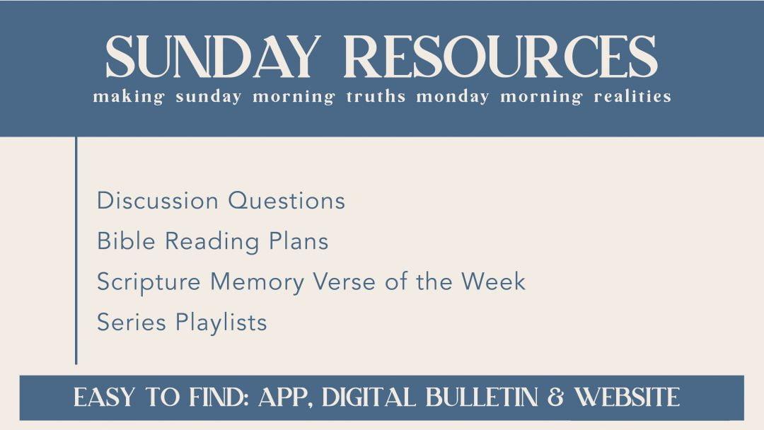 Sunday Resources