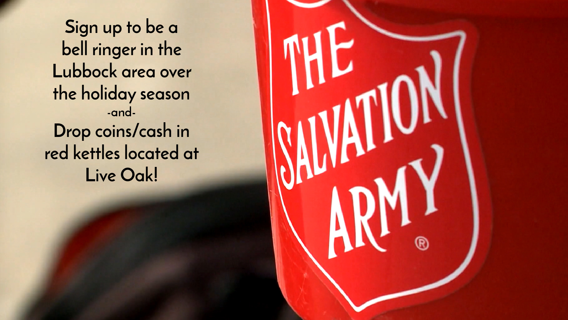 Partner with the Salvation Army