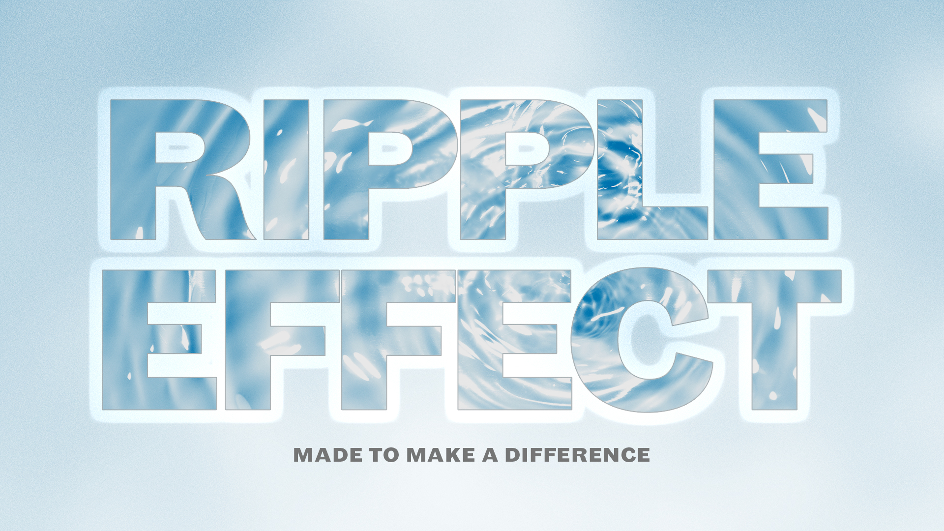 The Ripple Effect Role Model